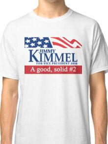 Jimmy Kimmel A Good Solid #2 Classic T-Shirt