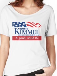 Jimmy Kimmel A Good Solid #2 Women's Relaxed Fit T-Shirt