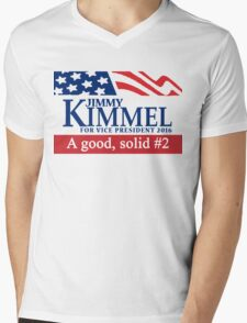 Jimmy Kimmel A Good Solid #2 Mens V-Neck T-Shirt