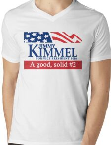 Jimmy Kimmel A Good Solid #2 Mens V-Neck T-Shirt