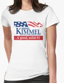 Jimmy Kimmel A Good Solid #2 Womens Fitted T-Shirt