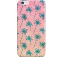 Palm Tree Pattern iPhone Case/Skin