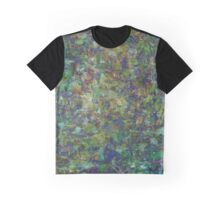 Textural Leaves Graphic T-Shirt