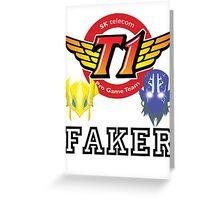 Faker v2 Greeting Card