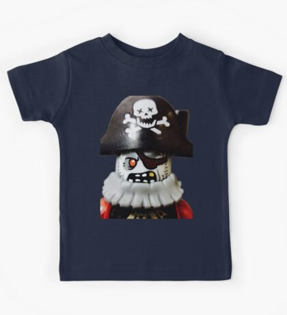 Lego Zombie Pirate minifigure Kids Tee