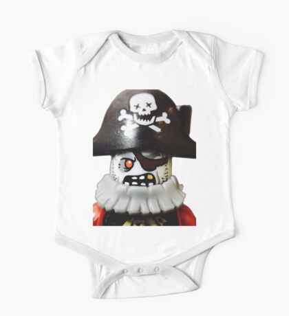 Lego Zombie Pirate minifigure One Piece - Short Sleeve