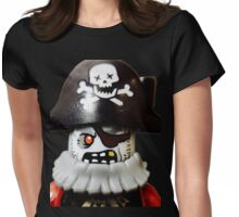 Lego Zombie Pirate minifigure Womens Fitted T-Shirt