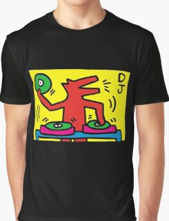 keith haring, keith, haring, graffiti, symbol, paris, trending, mann, dj, music. Graphic T-Shirt