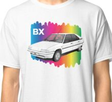 Citroen BX with rainbow spectrum Classic T-Shirt