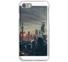 Shanghai by Night iPhone Case/Skin