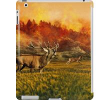 Forest fire iPad Case/Skin