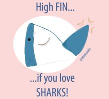 High Fin If You Love Sharks! One Piece - Short Sleeve