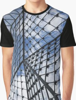 Geometric Sky - Fabulous Modern Architecture in London, UK - Vertical Graphic T-Shirt