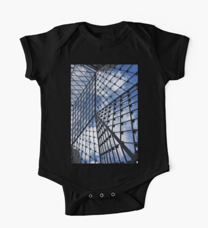 Geometric Sky - Fabulous Modern Architecture in London, UK - Vertical One Piece - Short Sleeve