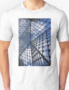 Geometric Sky - Fabulous Modern Architecture in London, UK - Vertical Unisex T-Shirt