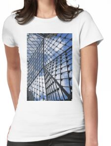 Geometric Sky - Fabulous Modern Architecture in London, UK - Vertical Womens Fitted T-Shirt