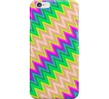 Zig Zag Chevron Pattern iPhone Case/Skin