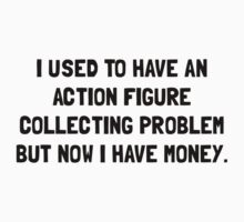 Money Action Figure Problem Baby Tee