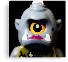 Lego Lady Cyclops minifigure Canvas Print