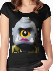 Lego Lady Cyclops minifigure Women's Fitted Scoop T-Shirt