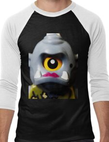 Lego Lady Cyclops minifigure Men's Baseball ¾ T-Shirt