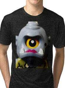Lego Lady Cyclops minifigure Tri-blend T-Shirt