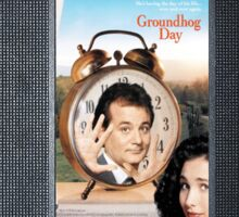 Groundhog Day vhs iphone-case Sticker