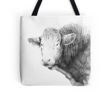Cow Illustration 01 Tote Bag