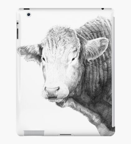 Cow Illustration 01 iPad Case/Skin