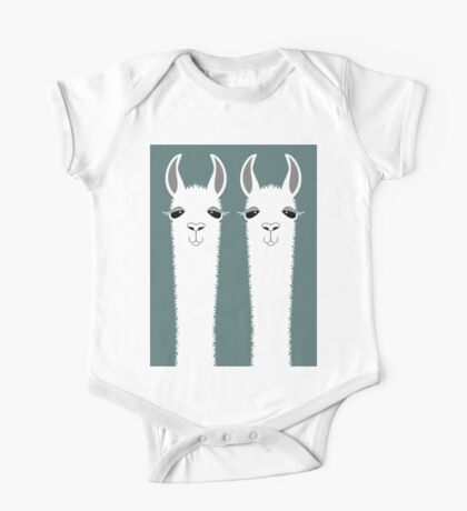 LLAMA TWINS One Piece - Short Sleeve