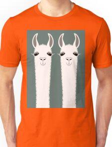 LLAMA TWINS Unisex T-Shirt