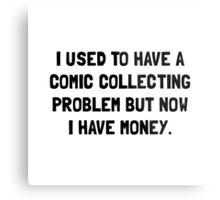Money Comic Collecting Problem Metal Print