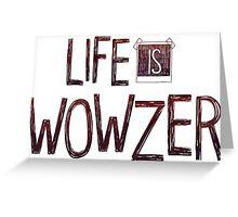 Life is strange Wowzer Greeting Card