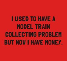 Money Model Train Problem Kids Tee