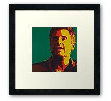 Shawn Spencer Framed Print
