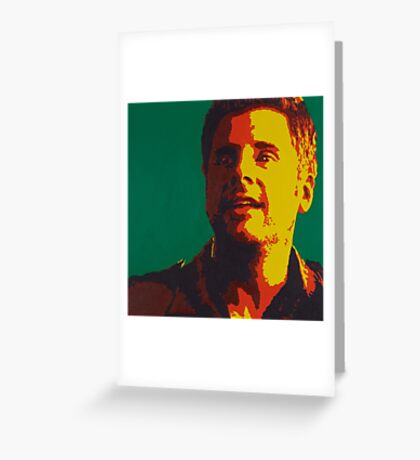 Shawn Spencer Greeting Card