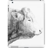 Cow Illustration 02 iPad Case/Skin