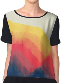 Sounds Of Distance Chiffon Top