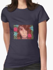 Oil Pastel Dionysus Womens Fitted T-Shirt