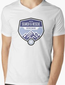 Hoth Search and Rescue Mens V-Neck T-Shirt