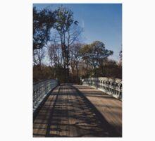 Central Park Bridge Shadows Kids Tee