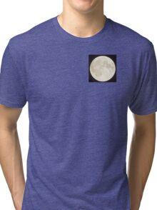nignt sky moon  Tri-blend T-Shirt