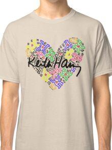keith haring, keith, haring, big, love, graffiti, man, girl, family, wall, symbol. Classic T-Shirt