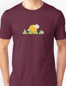 Mountain landscape Unisex T-Shirt