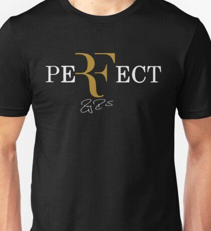 rf, roger federer, roger, federer, tennis, champion, wimbledon, tournament, sport, legend, australia, ball, signature, logo, symmbol. Unisex T-Shirt