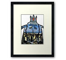 ice king & gunther Framed Print