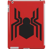 spider-man civil war logo iPad Case/Skin