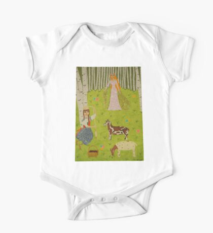 The Wood Maiden One Piece - Short Sleeve