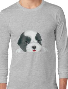 Bolognese dog Long Sleeve T-Shirt
