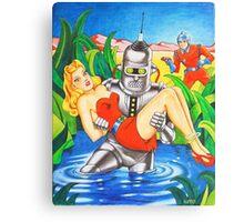 SHOMBERG ROBOT Canvas Print